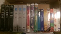 16 VHS movies with new Limited Edition, Fully Restored, THX Sleeping Beauty, NIB Seattle, 98136