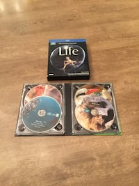 BBC Earth: Life. 4 blu-Ray disc collection set Calgary, T2E 0H4