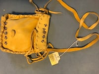Native American hand made pouch with strap Bloomsburg
