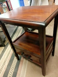 rectangular brown wooden side table Lake Forest, 92630