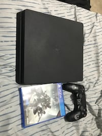 Ps4 Slim 500GB WITH GAME