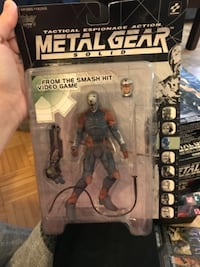tactical espionage action Metal Gear Solid action figure pack