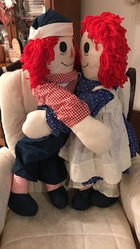 Two vintage collectible raggedy ann & andy Gainesville, 20155