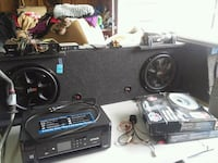 "Power bass 12"" speakers Lake Station, 46405"