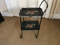 black and red floral folding chair Laurel, 20707