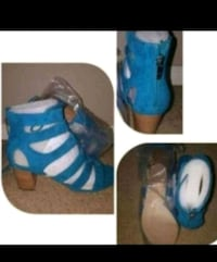 Marc Fisher Heels Turquoise New  Puyallup, 98373