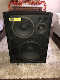 Accugroove El Whappo bass cab Summit