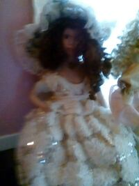 barbie doll in white wedding dress Sydney, B1P 1V9