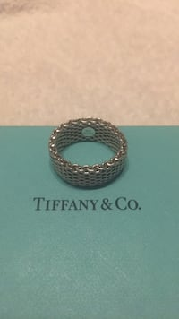 Tiffany Somerset Sterling Silver Ring Size 8 San Diego, 92109