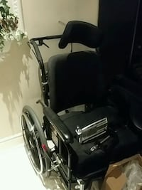 black and gray wheelchair Toronto, M1H 1S2