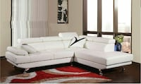 Sectional leather
