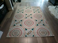 Colourful area rug!