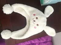 Cozy soft cream colored bunny beanie hat for infants to 1 year Anaheim, 92807