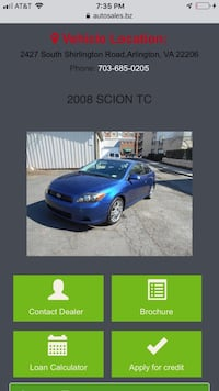 Scion - tC - 2008 Centreville