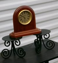 Clock and Candle Holders