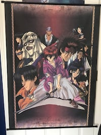 Anime Rouroni Kenshin Wall Scroll Centreville, 20120