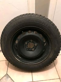 Winter Tires 195/ 65 R15  Five hole steel  Just 1 season a Mississauga, L4X 1S2