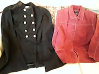 black and brown button up jacket Hyattsville, 20784