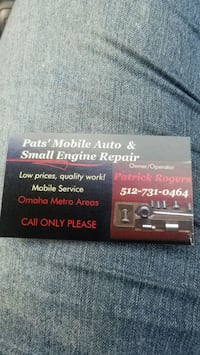 mobile mechanic Omaha