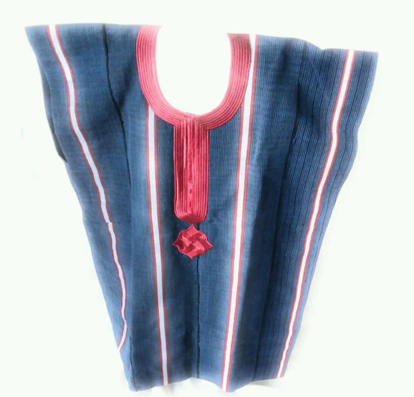 blue and red striped textile 9ff683d2-b06a-46bd-aa7c-f801d04df769