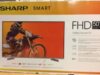 "50"" Sharp Smart tv Waterloo, N2K 4H2"