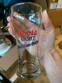 Coors lite glasses (20 total)  Bear, 19701