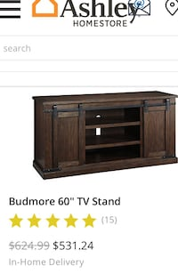 Brand New 60 inch All Wood TV stand  Bakersfield, 93309