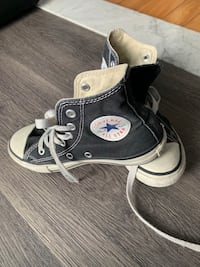 Convers shoes for kids size 13