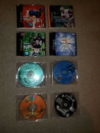 Dreamcast Games used. 8 total