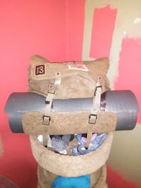 WORLD WAR II ARMY BACKPACK with BEDROLL HOLDER New Orleans