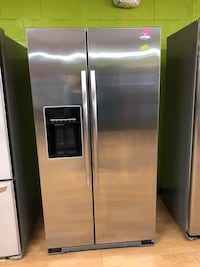 Whirlpool stainless steel side by side refrigerator  Woodbridge, 22191
