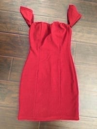 new papaya clothing burgundy dress size small. Colton, 92324