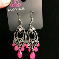 pair of silver-colored dangling earrings Greenville, 27834