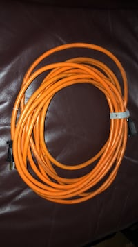 20 feet ungrounded orange extension cord 19 km