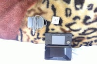 black Nintendo 3DS with charger and fifa12 Terrebonne