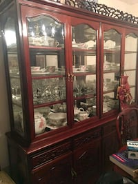 China Cabinet Rosewood Stafford, 22556