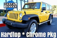 2015 Jeep Wrangler Unlimited Yellow