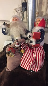 Byers Choice Santa and Mrs. Claus being sold as a pair Doylestown borough, 18901