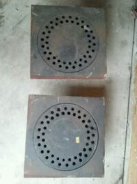 12 inch cast iron floor drain new  Coral