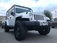 2015 Jeep Wrangler Sahara with upgrades!!! 3718 km