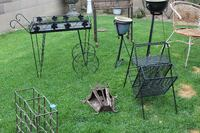 Lots of Vintage Wrought Iron for sale BUENAPARK