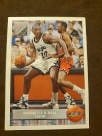 Shaquille Oneal Basketball Card Elizabethtown, 42701
