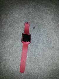Android Watch with red sports band Los Angeles, 90710