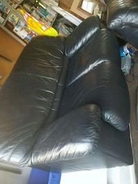 Leather loveseat and armchair Surrey, V3X 2H5