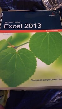 Microsoft Office Excel 2013 book