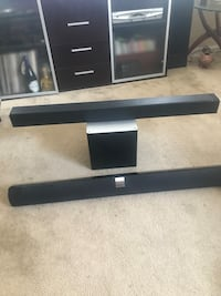 Visio sound bars(2),,, San Diego, 92101
