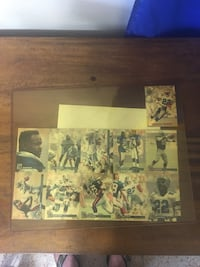 Emmitt Smith limited edition pro autographed sheet. Delray Beach, 33483