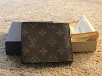 brown Louis Vuitton leather bi-fold wallet Alexandria, 22304