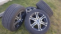 4 perfect 18' rims with 4 perfect tires 6 lug pattern New Castle, 19720