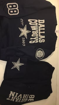 Dallas cowboys sweatsuits s-xl other sizes 100